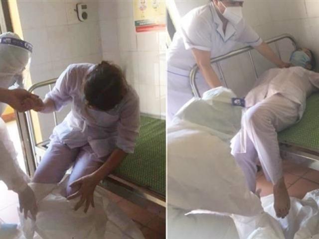 Ba nữ nhân viên y tế kiệt sức, ngất xỉu khi chống dịch ở Bắc Ninh