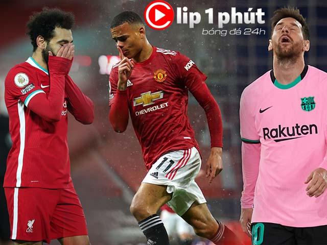 """MU dồn sức khiến Liverpool """"ôm hận"""" lỡ top 4, Barca tái tê vì hàng thủ """"thảm họa"""" (Clip 1 phút Bóng đá 24H)"""