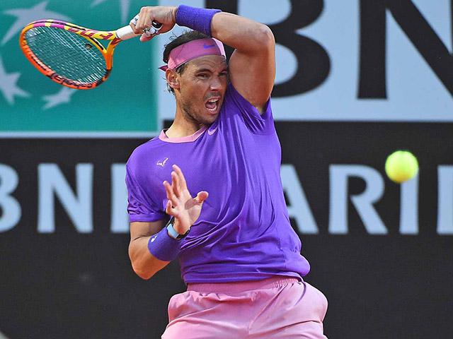 """Video tennis Sinner - Nadal: Nhọc nhằn set 1, đẳng cấp """"Vua đất nện"""""""