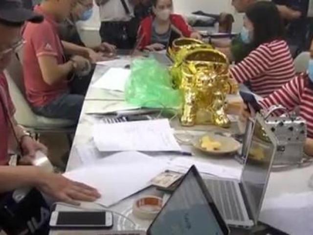 """Công an Hà Nội triệt phá 4 sàn giao dịch vàng, tiền ảo """"khủng"""""""