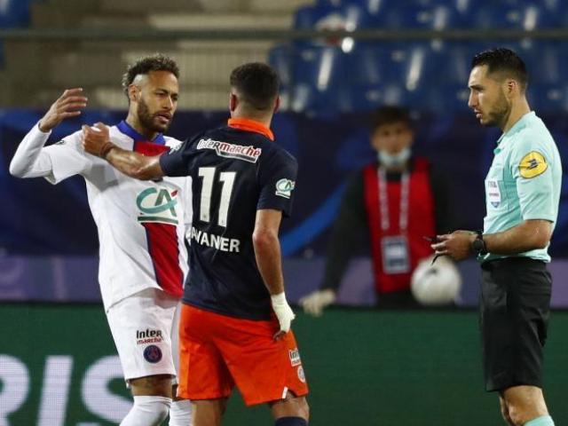 Neymar lỡ hẹn chung kết cúp Quốc gia Pháp: Chỉ trích trọng tài, dễ ăn phạt nặng