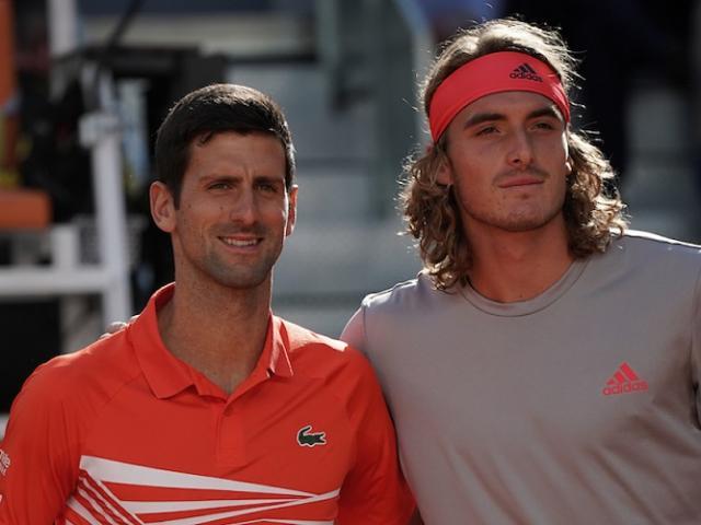 Trực tiếp tennis Djokovic - Tsitsipas: Dễ có thêm một trận giằng co (Tứ kết Rome Masters)