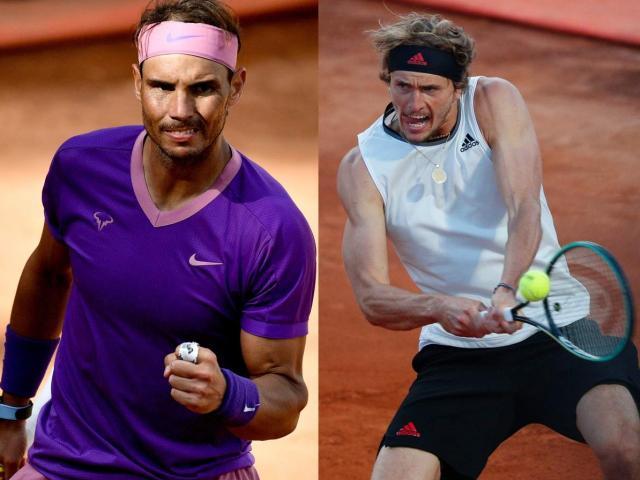 Video tennis Nadal - Zverev: Phục hận ngọt ngào, hiên ngang đi tiếp (Tứ kết Rome Masters)