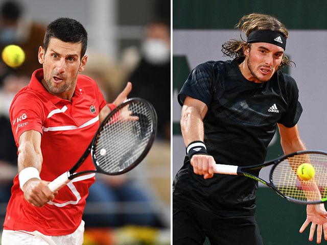 Trực tiếp tennis Rome Masters ngày 5: Djokovic đấu Tsitsipas, Nadal chờ phục thù Zverev