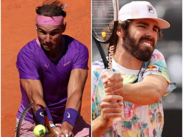 """Video tennis Nadal - Opelka: Hóa giải """"khổng lồ"""" 2m11, tiến vào chung kết (Bán kết Rome Masters)"""