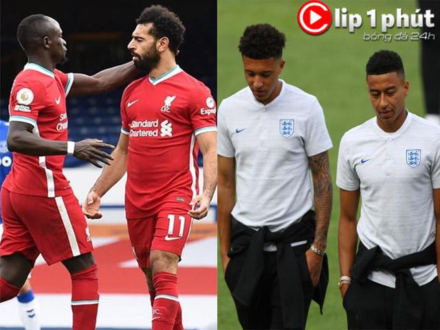 """Liverpool giữ Salah - Mane bằng mọi giá, MU nên chốt Sancho hay """"triệu hồi"""" Lingard? (Clip 1 phút Bóng đá 24H)"""