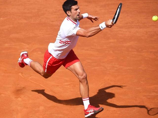 Video tennis Djokovic - Tsitsipas: Kịch chiến hơn 3 tiếng, điểm break hạ màn (Tứ kết Rome Masters)