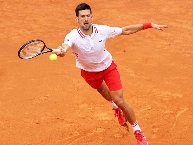 Trực tiếp tennis Djokovic - Sonego: Nole quyết phục thù (Bán kết Rome Masters)