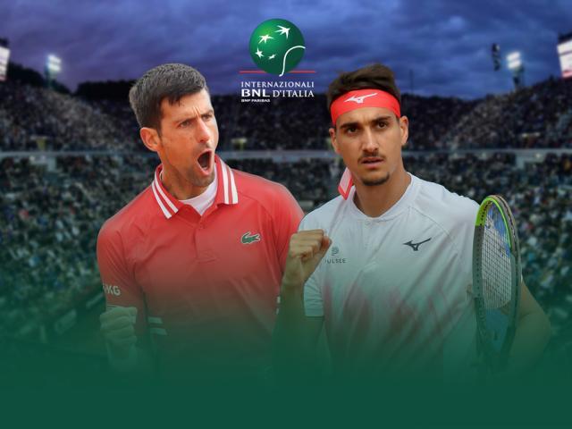 Video Djokovic - Sonego: Sảy chân khó ngờ, set cuối bừng tỉnh (Bán kết Rome Masters)