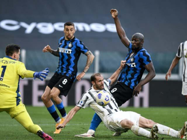Video Juventus - Inter Milan: Điên rồ phản lưới, 5 bàn thắng & 2 thẻ đỏ