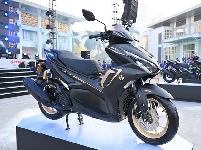 Yamaha NVX 155 VVA thế hệ II trình làng: Giá bán từ 53 triệu đồng