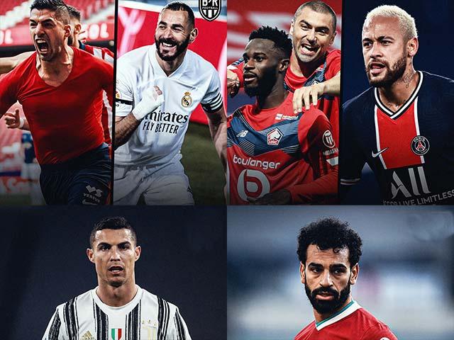 """Gay cấn bóng đá châu Âu: La Liga và Ligue 1 tìm """"Vua"""", đua top 4 ở Ngoại hạng Anh & Serie A"""