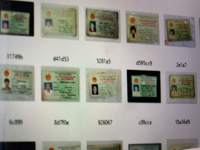 Bộ Công an điều tra vụ gần 10.000 CMND, CCCD người Việt bị rao bán trên mạng
