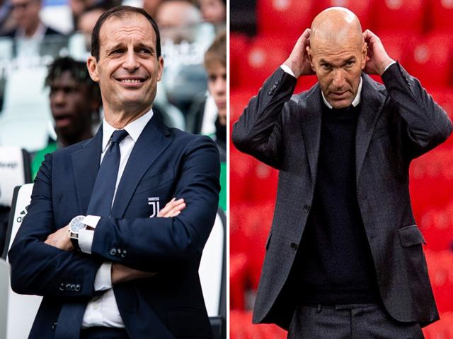 Zidane phát cáu vì tin đồn rời Real Madrid, Allegri chờ thay thế