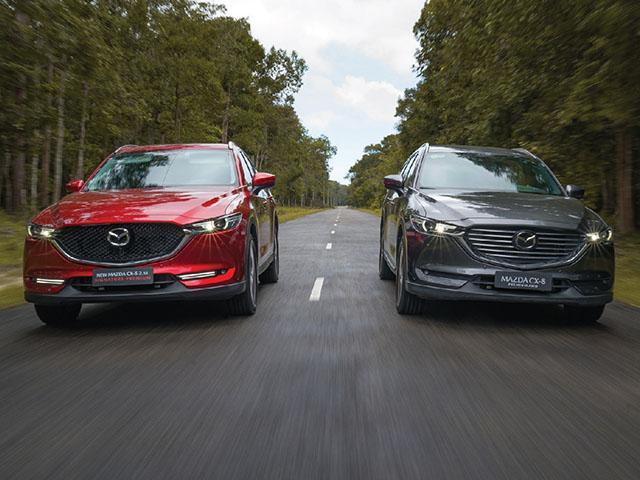 Giá xe Mazda CX-8 lăn bánh tháng 5/2021