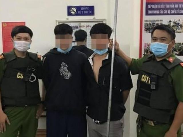 Cảnh sát nổ súng trấn áp nhóm thiếu niên mang dao đi hỗn chiến
