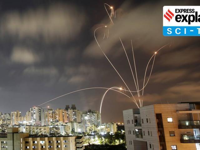 Vì sao tên lửa đánh chặn rocket của Israel có đường bay uốn lượn?