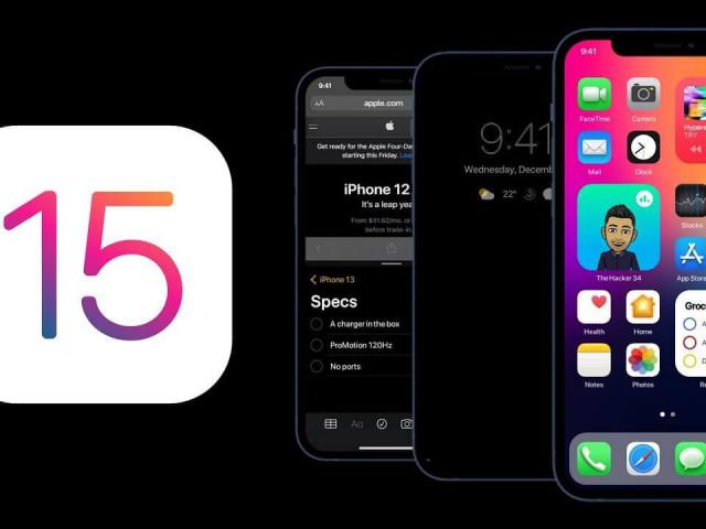 Apple bất ngờ hé lộ các tính năng mới trên iOS 15?