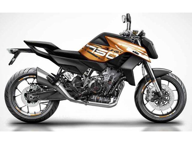 """""""Phê"""" với thiết kế mới của KTM 750 Duke"""