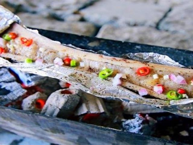 Món ăn sang chảnh, độc lạ được làm từ khúc xương không có tí thịt