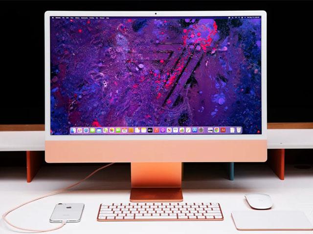 iMac 24 inch M1: Máy tính để bàn cho tất cả mọi người