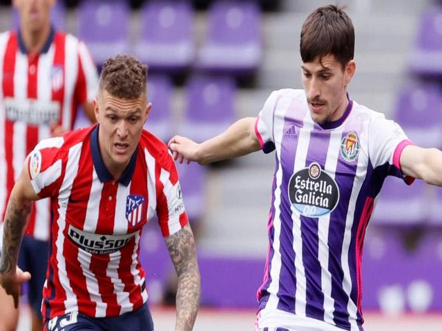 Trực tiếp bóng đá Valladolid - Atletico Madrid: Tấn công dồn dập