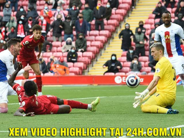 Video Liverpool - Crystal Palace: Mane ghi cú đúp, cán đích top 3 rực rỡ