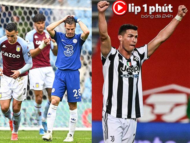 Chelsea cực lo trước chung kết Cúp C1, Ronaldo có đổi ý ở lại Juventus? (Clip 1 phút Bóng đá 24H)