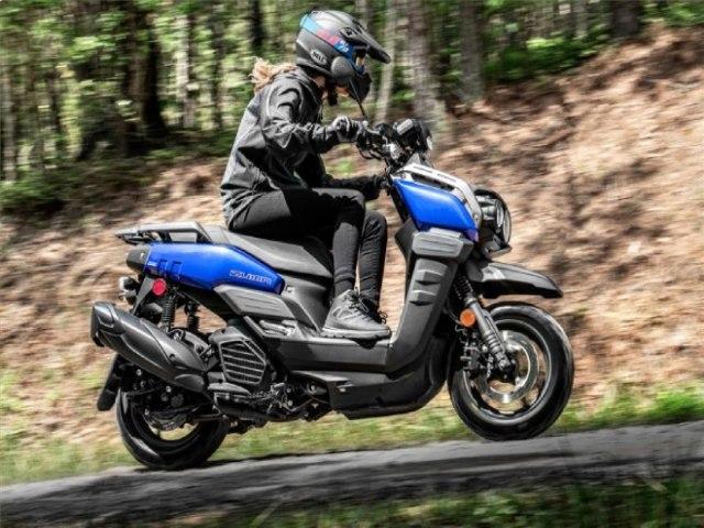 Ngắm xe ga phượt 2022 Yamaha Zuma 125, nhỏ mà sừng sỏ đáo để