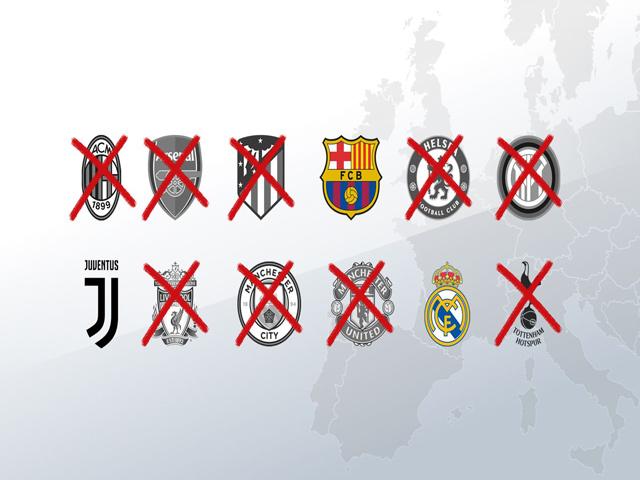 Real - Barca - Juventus run rẩy chờ bị cấm dự C1 trong 2 năm vì Super League