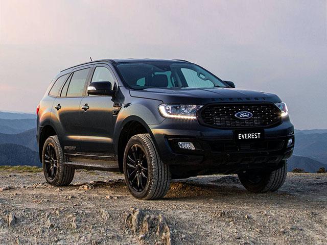 Giá xe Ford Everest lăn bánh tháng 5/2021