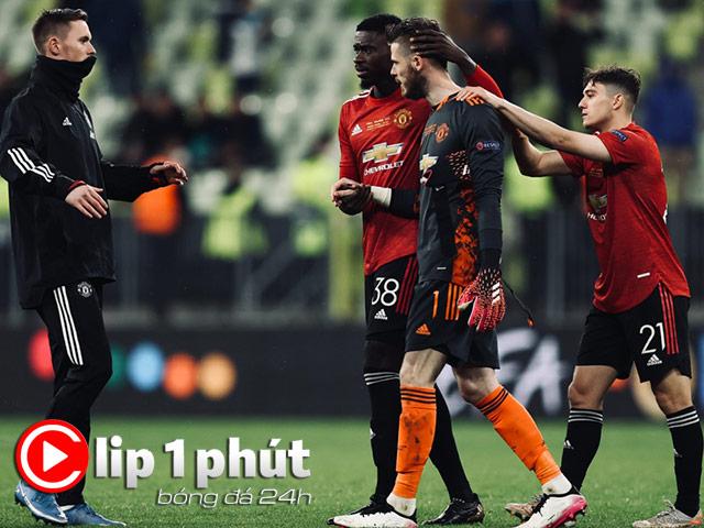 De Gea có đáng bị chỉ trích vì bắt 11m quá tệ, MU lo giữ chân Fernandes (Clip 1 phút Bóng đá 24H)
