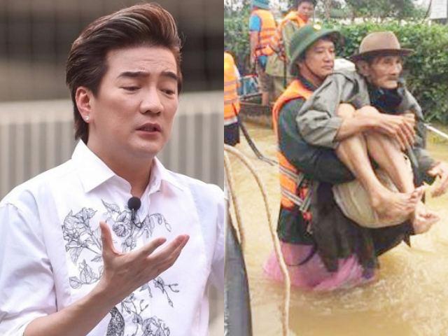 Đàm Vĩnh Hưng công khai tiền từ thiện miền Trung, tuyên bố từ giờ không kêu gọi nữa