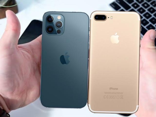 Thông số cấu hình iPhone 7 Plus và so sánh với thế hệ mới nhất