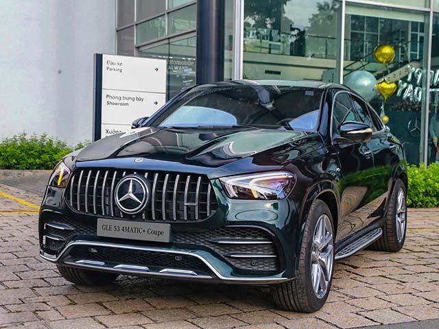 Mercedes-AMG GLE 53 Coupe xuất hiện tại Việt Nam, giá bán hơn 5,3 tỷ đồng