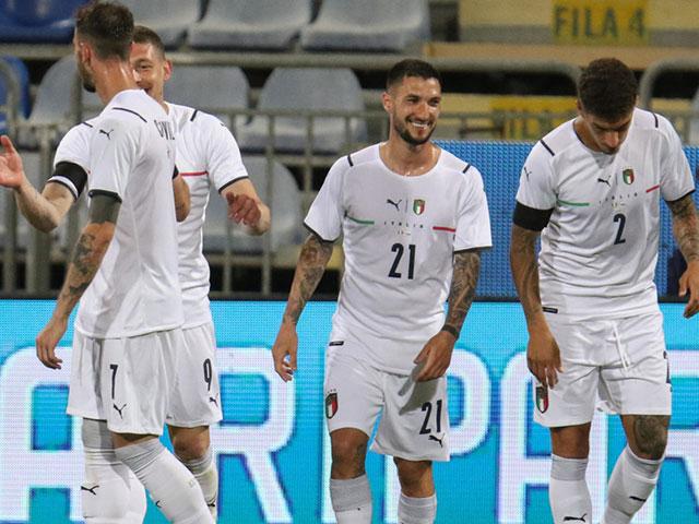 """Video Italia - San Marino: Hiệp 2 bùng nổ, đại tiệc """"7 sao"""""""