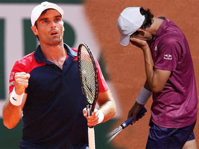 Video tennis Thiem - Andujar: 5 set kịch chiến, địa chấn ngỡ ngàng (Roland Garros)