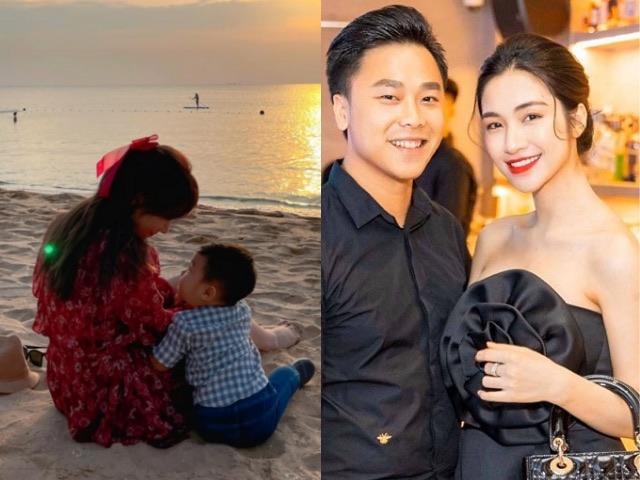 Hòa Minzy đã sinh con cho bạn trai nhưng chưa làm đám cưới vì lý do này
