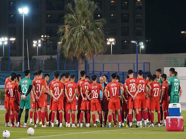 Tuyệt mật thông tin trận đấu giữa ĐT Việt Nam và Jordan ở Dubai