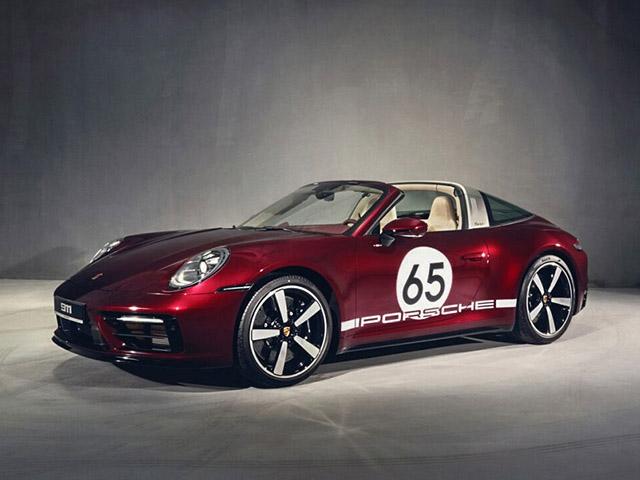 Porsche 911 Targa 4S phiên bản di sản chào sân thị trường Việt, có giá bán hơn 11,6 tỷ đồng