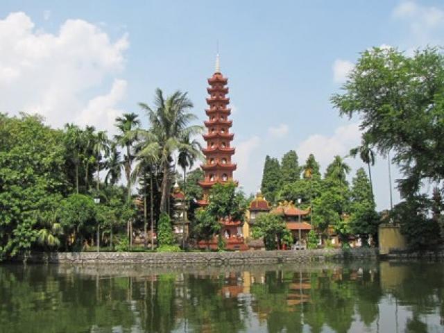 Tìm hiểu nét độc đáo của chùa Trấn Quốc – Top 10 chùa đẹp nhất thế giới
