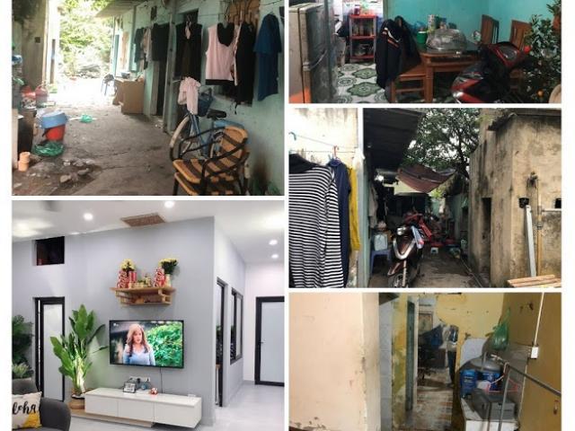 """Không đủ tiền mua nhà, vợ chồng trẻ """"biến"""" khu trọ """"ổ chuột"""" thành căn hộ khang trang"""