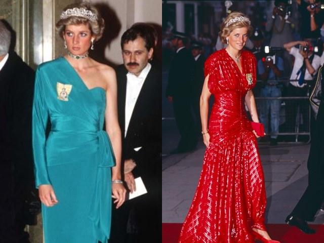 11 chiếc váy giúp công nương Diana trở thành biểu tượng thời trang