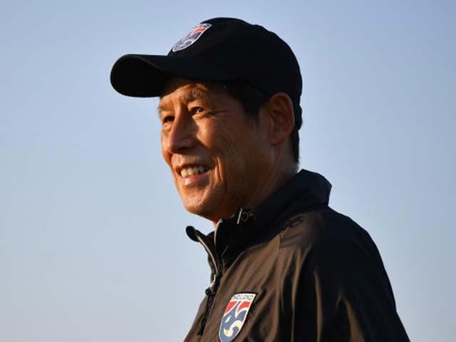 Đội tuyển Thái Lan muốn soán ngôi thầy trò ông Park