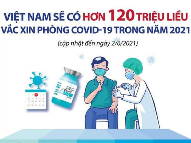 Infographic: Toàn cảnh đàm phán, mua và cung ứng hơn 120 triệu liều vắc-xin COVID-19 tại VN