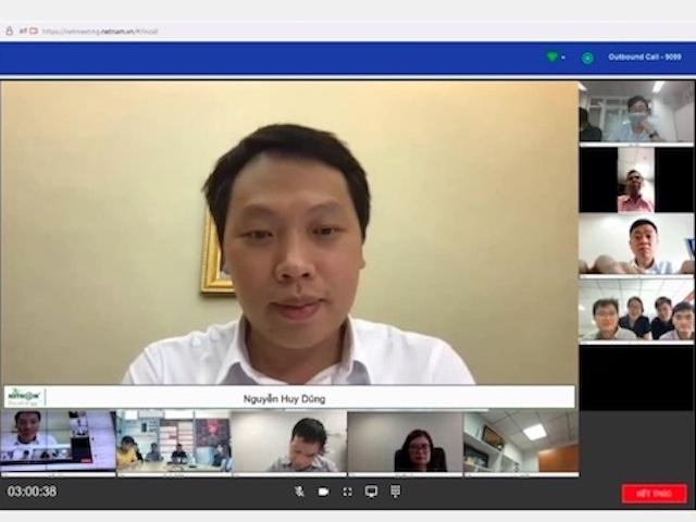 """Làm việc, hội họp không khoảng cách nhờ... công nghệ số """"make in Việt Nam"""""""