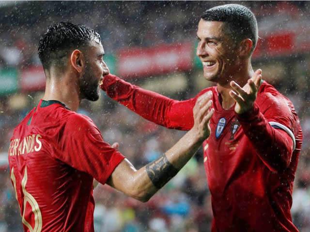 Fernandes tạo cơ hội số 1 châu Âu, Ronaldo - Bồ Đào Nha hưởng lợi ở EURO 2021