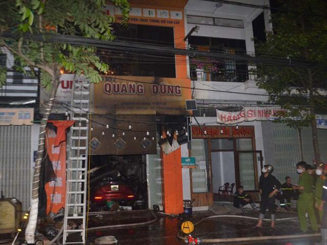 Quảng Ngãi: Cháy lớn khiến 4 người trong gia đình tử vong