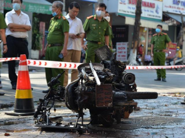 Hiện trường kinh hoàng vụ cháy nhà khiến 4 người tử vong