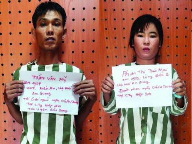 Vợ rủ chồng đi đâm chết bạn đồng nghiệp ở Bình Dương